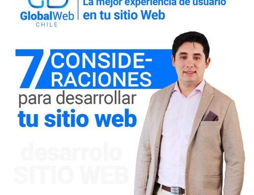 7 puntos a considerar al momento de desarrollar tu página web